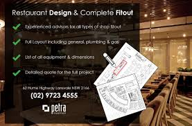 commercial kitchen design petra group shop fittings
