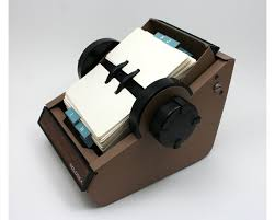 Rolodex Desk Accessories Rolodex Address File Vintage 1970s Faux Wood Grain Brown Metal