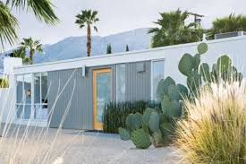 Mobile Home Exterior Remodel by A Couple Remodels A Desert Home As A Retreat From The City