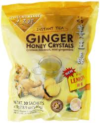 amazon com instant ginger honey crystals pack of 30 bags 18 g