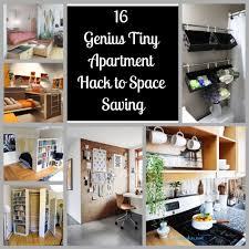 16 genius tiny apartment hack to space saving wartaku net
