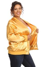 gold blouse plus size s plus size lightweight gold bomber jacket hadari