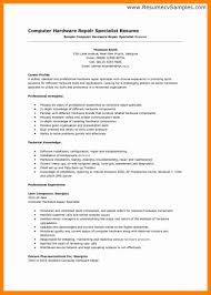 Ultrasound Technician Resume Computer Repair Technician Resume Letter Of Resignation To Employer