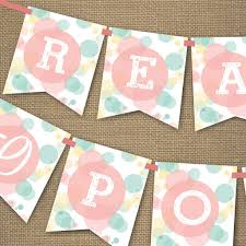 unisex baby shower ready to pop baby shower banner unisex baby shower