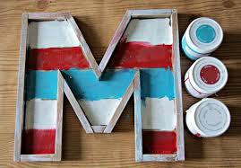 Monogram Letters Home Decor Diy Monogram Barn Wood Letter Tutorial Darice