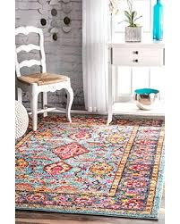 check out these bargains on nuloom ahsh02a aqua floral persian