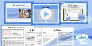 planit computing year 5 3d modelling sketchup lesson 5 a