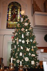 at virginia united methodist it s a chrismon tree not a