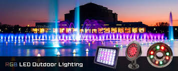 Rgb Landscape Lights Rgb Led Outdoor Lighting Lamfield