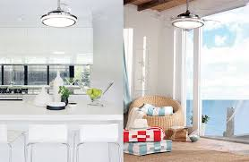 Retractable Ceiling Light by Cool And Unique Ceiling Fans