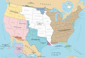 Map Of America by A Map Of The Historical Territorial Expansion Of The United States