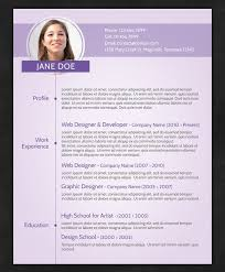 Sample Of Resume Doc Example Of Modern Resume 21 Free Resume Templates For Word