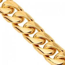rose gold rope chain bracelet images Solid gold miami cuban chain jpg
