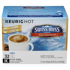 swiss miss light cocoa k cups k cup swiss miss cocoa milk chcocolate 32 ct meijer com