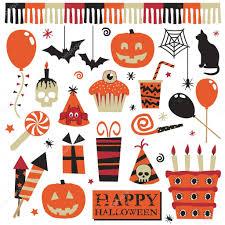 halloween party elements u2014 stock vector mattasbestos 2251422