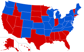 Political Map Us Ways The Major Political Parties In The Us Are Different From 50