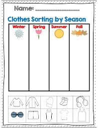 Kindergarten Weather Worksheets Weather And Seasons Unit 60 Pages With Assessments Weather