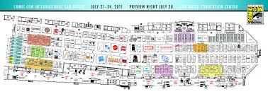 Map San Diego San Diego Comic Con Exhibitor Map Designing Geek