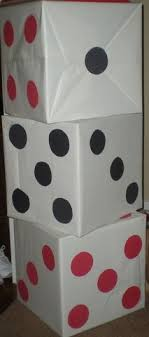 cheapest place to buy wrapping paper dice centerpiece made out of cheap dollar tree glasses
