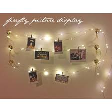 string lights with picture clips wonderful plus ft firefly lights string in string lights for bedroom
