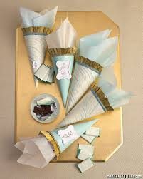 Favor Cones by Wedding Favor Packaging Templates Eventtagious Daily Inspiration