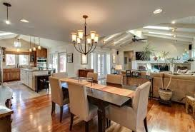 combined kitchen and dining room captivating kitchen dining and living room combination for your on