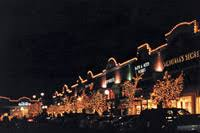Commercial Shopping Center Christmas Decorations by Christmas Decor By Watermark Maryland Dc Holiday Decorating