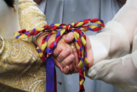 fasting cords kitchen witch tying the knot handfasting cords