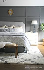 thrifty blogs on home decor our home diy tufted headboard tufted headboards and trim work