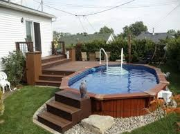 Small Backyard Deck Ideas by Brilliant Above Ground Pool Deck Designs Ideas E In Decorating