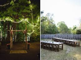 backyard weddings home design inspirations