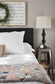 farmhouse guest bedroom get the look night stands and guest
