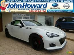 New Brz 2015 2015 Crystal White Pearl Subaru Brz Series Blue Special Edition