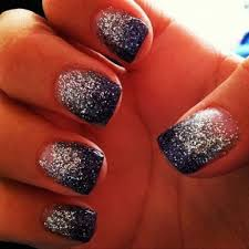 navy blue and silver nail ideas u2013 cute nail ideas prom
