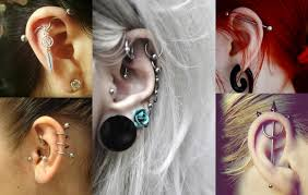 piercing ureche pictures piercing types ear piercings