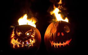 jackolantern screensavers free images night fall spooky orange produce autumn halloween