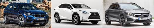 used lexus vs used mercedes 2016 bmw x1 vs mercedes benz gla vs lexus nx vs acura rdx