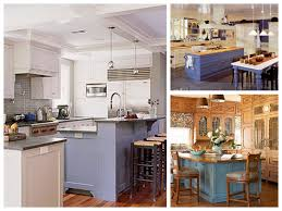 Kitchens With Different Colored Cabinets Kitchen Island Different Color Than Cabinets Home Decoration Ideas