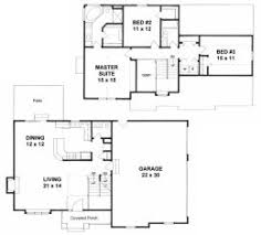 valuable inspiration 2 story house plans with garage 1600 sq feet