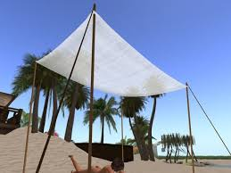 Beach Awnings Canopies Second Life Marketplace Beach Accessory Set Includes Beach Towel