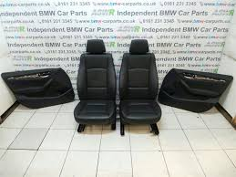 bmw car parts uk bmw e84 x1 black leather interior seats breaking for used and