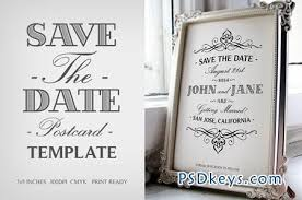 save the date template save the date postcard template v 1 41171 free