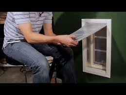 Patio Pacific Pet Doors Patio Pacific Adjusting Magnetic Resistance On Your Pet Door Youtube