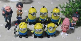 10 pcs set despicable me 2 thief 3d glasses small yellow