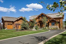 log home with detached garage dream home ideas pinterest