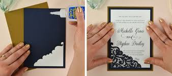 wedding invitations diy how to diy laser wedding invitations with slide in cards cards