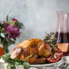 thanksgiving turkey recipe butter and wine roasted turkey
