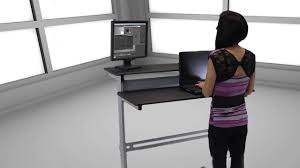modern standing desk black mobile standing desk super practical mobile standing desk
