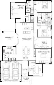 story and half house plans double storey bungalow house floor plan 5 bedroom plans 3d best