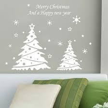 christmas tree on a wall christmas lights decoration